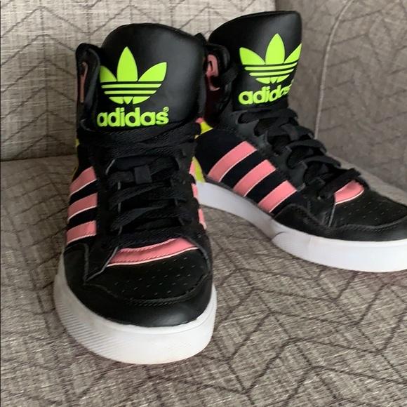 adidas superstar 80s rose>>adidas neo high tops